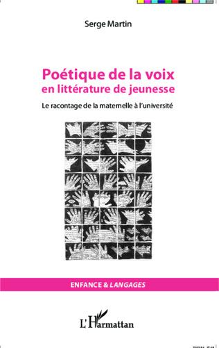 Couverture Poétique de la voix en littérature de jeunesse