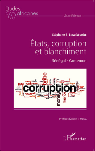 Couverture Etats, corruption et blanchiment