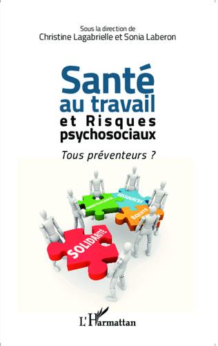 Couverture Santé au travail et risques psychosociaux