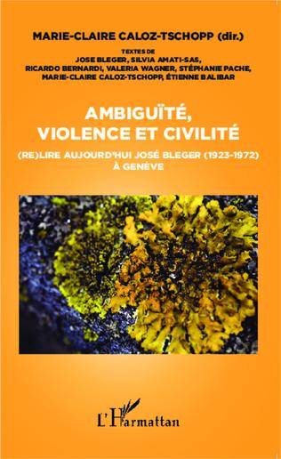 Couverture Ambiguïté, violence et civilité