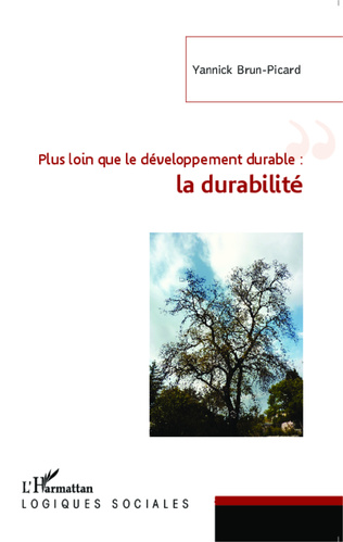 Couverture Plus loin que le développement durable : la durabilité