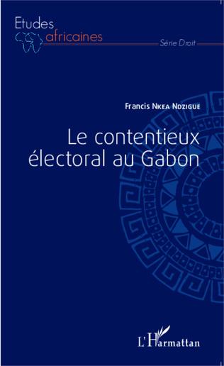 Couverture Le contentieux électoral au Gabon