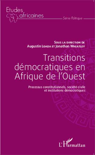 Couverture Transitions démocratiques en Afrique de l'Ouest