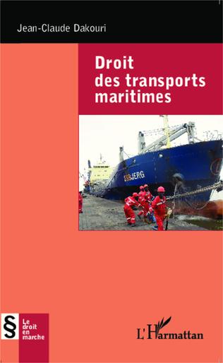 Couverture Droit des transports maritimes