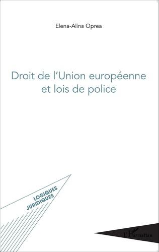 Couverture Droit de l'Union européenne et lois de police