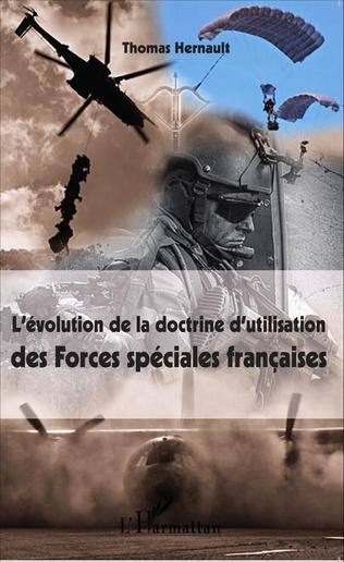 Couverture L'évolution de la doctrine d'utilisation des Forces spéciales françaises