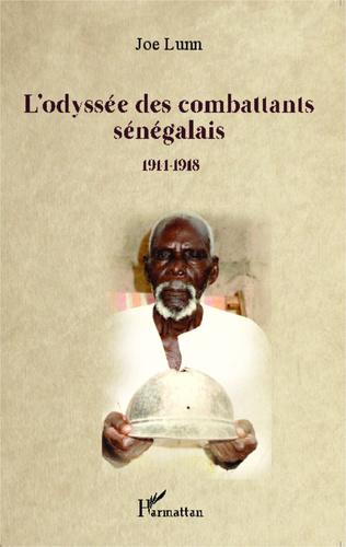 Couverture L'odyssée des combattants sénégalais
