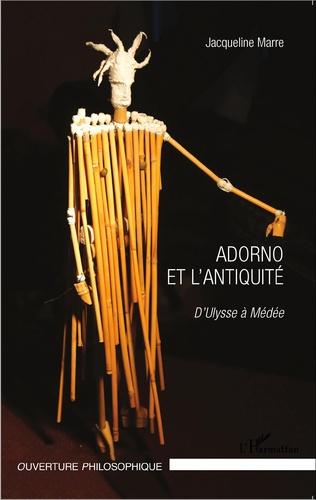 Couverture Adorno et l'Antiquité