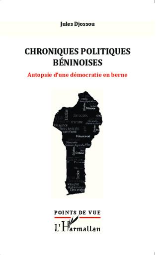 Couverture Chroniques politiques béninoises