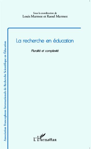 Couverture La recherche en éducation