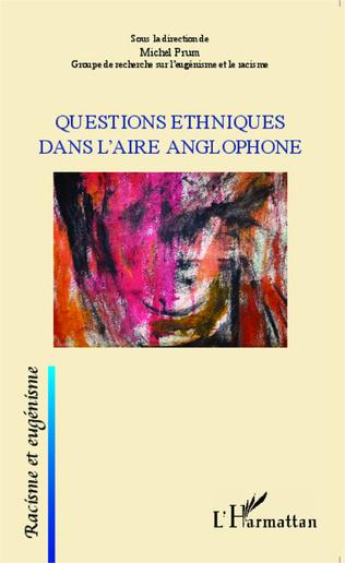 Couverture Questions ethniques dans l'aire anglophone