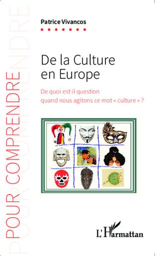 Couverture De la culture en Europe