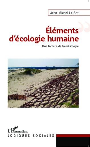 Couverture Eléments d'écologie humaine