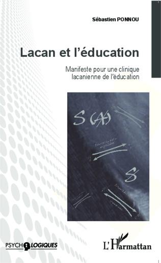 Couverture Lacan et l'éducation