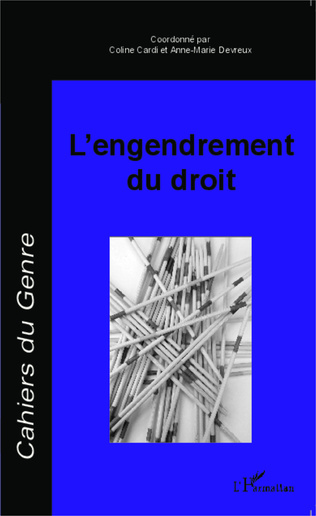 Couverture L'engendrement du droit