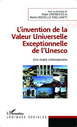 Couverture L'invention de la Valeur Universelle Exceptionnelle de l'Unesco