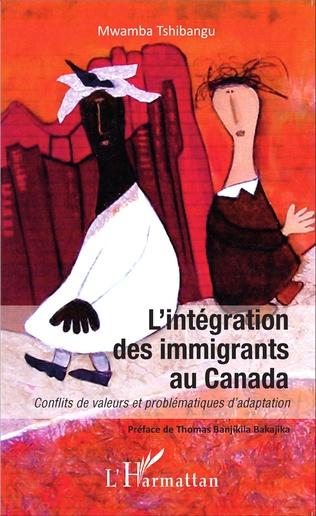 Couverture L'intégration des immigrants au Canada