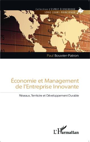 Couverture Economie et management de l'entreprise innovante