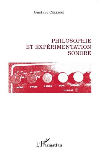 Couverture Philosophie et expérimentation sonore