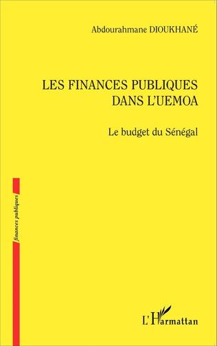 Couverture Les finances publiques dans l'UEMOA