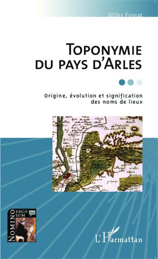 Couverture Toponymie du pays d'Arles