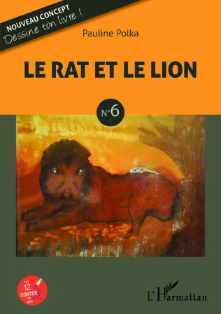 Couverture Le rat et le lion