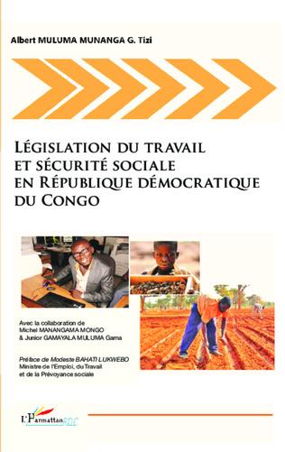Couverture Législation du travail et sécurité sociale en République Démocratique du Congo