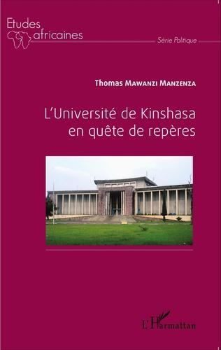 Couverture L'Université de Kinshasa en quête de repères