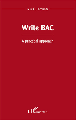 Couverture Write BAC