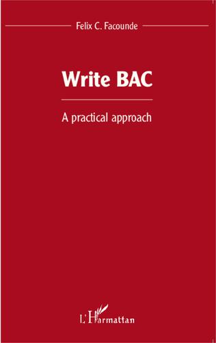 Couverture Write BAC