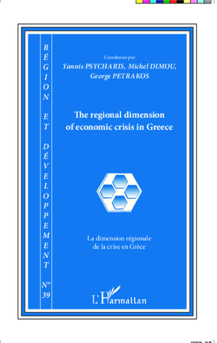 Couverture The regional dimension of economic crisis in Greece