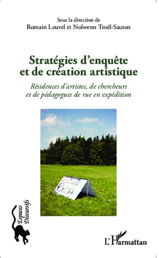 Couverture Stratégies d'enquête et de création artistique