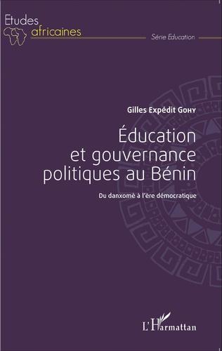 Couverture Éducation et gouvernance politique au Bénin