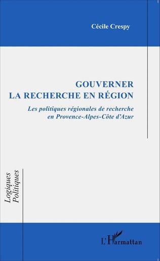 Couverture Gouverner la recherche en région