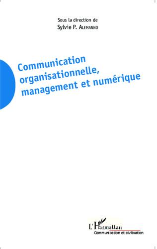 Couverture Communication organisationnelle, management et numérique