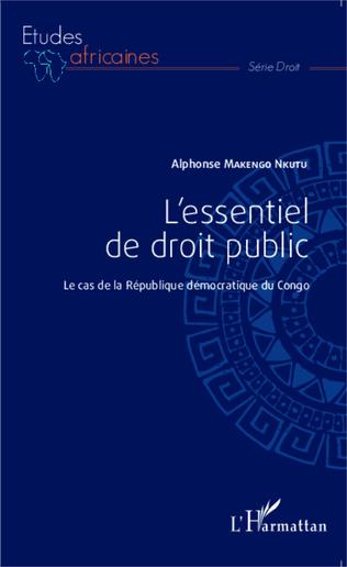 Couverture L'essentiel de droit public