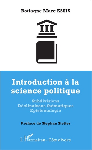 Couverture Introduction à la science politique