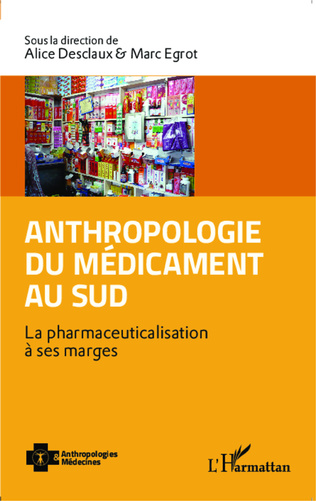 Couverture Anthropologie du médicament au Sud