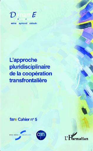Couverture L'approche pluridisciplinaire de la coopération transfrontalière