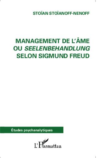 Couverture Management de l'âme ou Seelenbehandlung selon Sigmund Freud