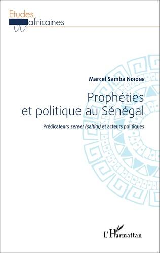 Couverture Prophéties et politique au Sénégal