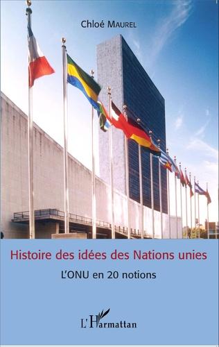 Couverture Histoire des idées des Nations unies