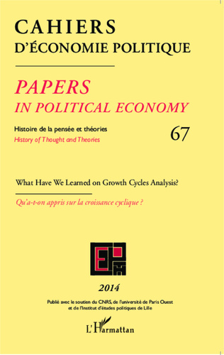 Couverture What have we learned on growth cycles analysis ? Qu'a-t-on appris sur la croissance cyclique ?