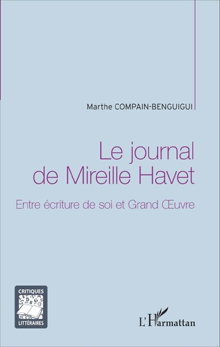 Couverture Le journal de Mireille Havet