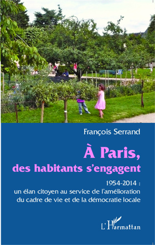 Couverture A Paris des habitants s'engagent