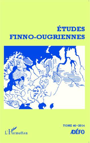 Couverture Etudes finno-ougriennes