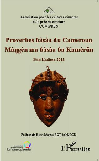 Couverture Proverbes bàsàa du Cameroun