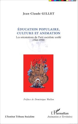 Couverture Éducation populaire, culture et animation