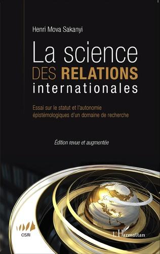 Couverture La science des relations internationales