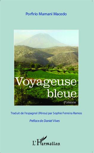 Couverture Voyageuse bleue